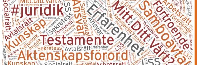 Vill du vara med och skriva på am juristbyrås blogg om juridik?