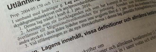 Migration- Arbetstillstånd i Sverige